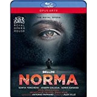 Bellini: Norma [Sonya Yoncheva; Joseph Calleja; Sonia Ganassi; Brindley Sherratt; Royal Opera House; Antonio Pappano] [Opus Arte: OABD7225D] [Blu-ray]